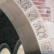 Arch Detail - Royce Hall Corridor