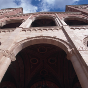 Upward View of Royce Hall