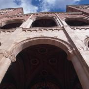 Upward View of Royce Hall