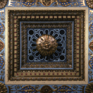 Ceiling Detail - Royce Hall