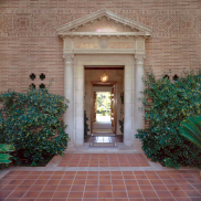 Front Door - Chancellor's Residence