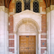 Royce Hall Front Doors