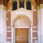 Royce Hall Front Doors