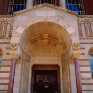 Front Door - Powell Library