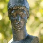 Bust Detail - Murphy Sculpture Garden