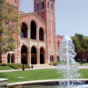 Royce Hall with Fountain