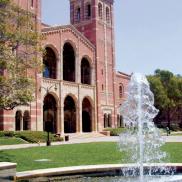 Royce Hall with Fountain