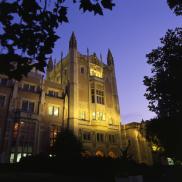 Kerckhoff Hall at Night
