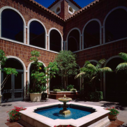 Fowler Museum Fountain
