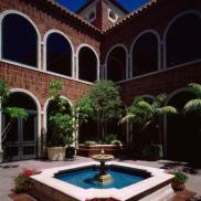 Fowler Museum Fountain