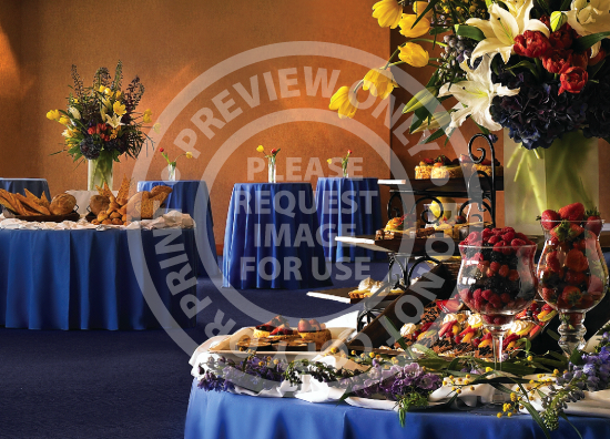 Catering Reception Setup