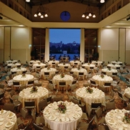 Banquet Setup - Grand Horizon Room and Terrace, Covel Commons