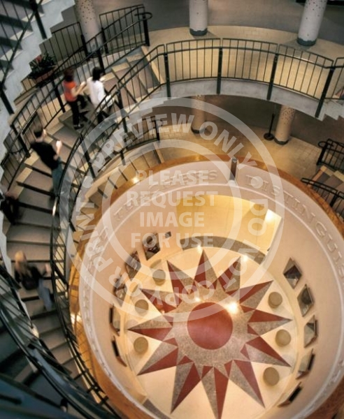 Covel Commons - Spiral Staircase