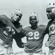 UCLA Football (1939) - Woody Strode, Jackie Robinson, & Kenny Washington