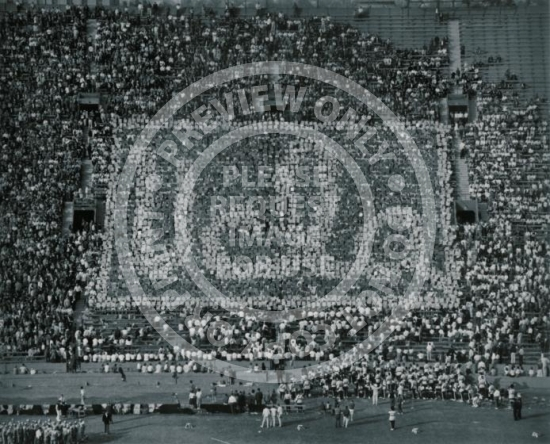 UCLA Football (c. 1960s) - Audience Card Trick