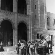 Move-In Day at Royce Hall (1929)