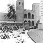 Royce Hall with Snow (1932)