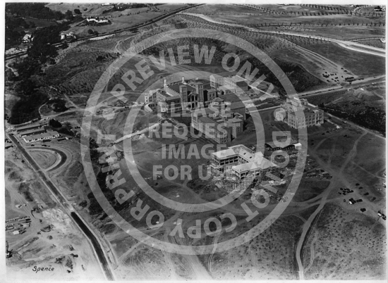 Aerial View of Campus (1929)