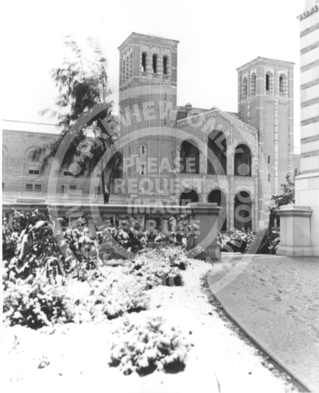 Royce Hall with Snow (1932)