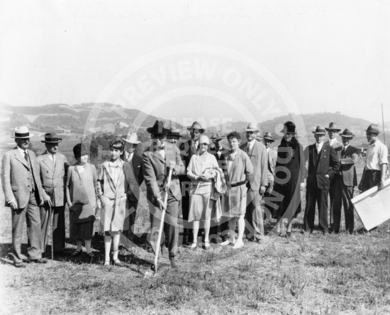 UCLA Ground Breaking (1927)