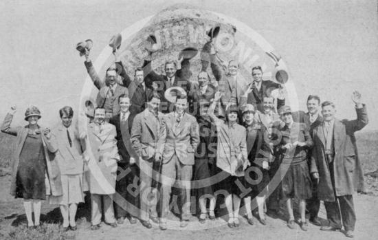 Founders Rock in Westwood (1926)