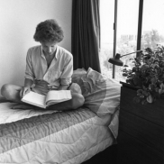 Student in New Residence Hall, 1981