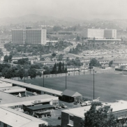 View of Hedrick and Rieber Residence Halls (1962)