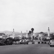 Wide Shot of Westwood Village (1938)